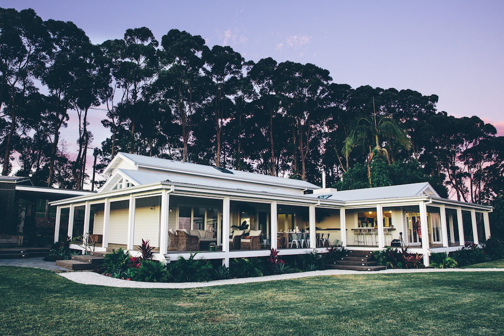 The grove byron bay low level living for The grove house